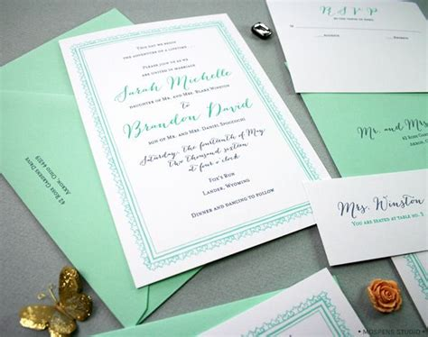 and mint green wedding invitations best 25 mint grey wedding ideas on grey