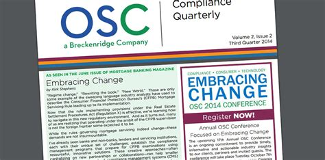 Mba Servicing And Technology Conference 2014 by News Page 4 Of 5 Osc Insurance Services