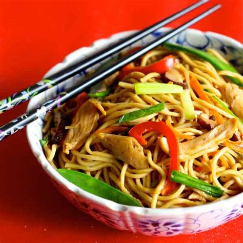 new year eat noodles noodles traditional recipe 196 flavors