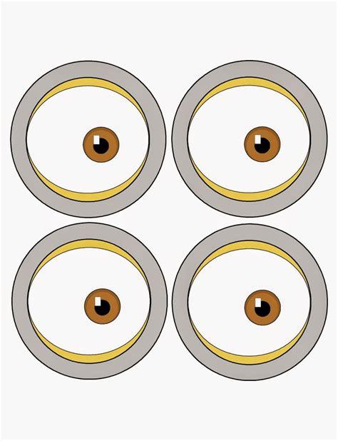large printable minion eyes pin the eye on the minion party game printable party