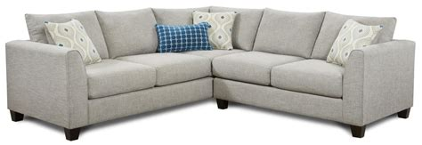 fusion sectional fusion furniture 2800 2 piece corner sectional zak s