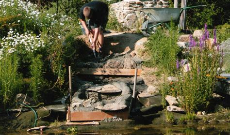 Wasserfall Garten Bauen Anleitung 1621 by Bauanleitung Teich Filter