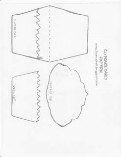 cupcake shaped card template 178 best images about template cards on