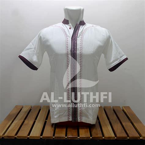 Baju Koko Al Luthfi Bm Al 26 baju koko al luthfi tangan pendek al 033 al luthfi