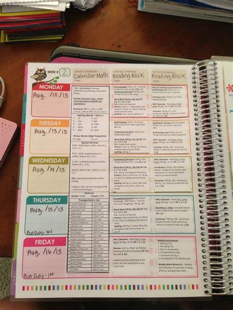 teacher diary template planner template printable planner template