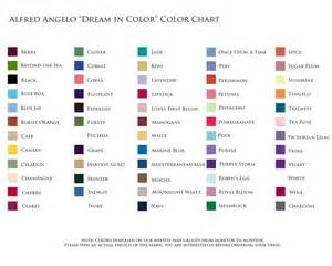 alfred angelo colors color charts