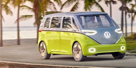 volkswagen minibus electric vw will apparently build this retro electric microbus