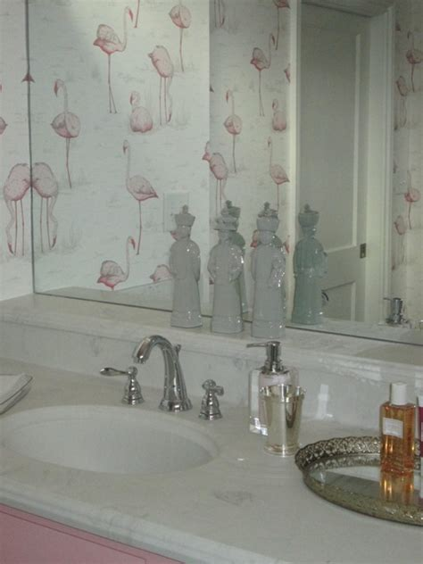 flamingo wallpaper toilet the glam pad fabulous flamingo wallpaper