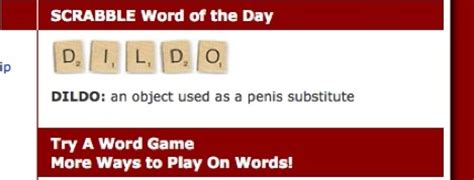 is wo a scrabble word official quot scrabble word of the day quot boing boing