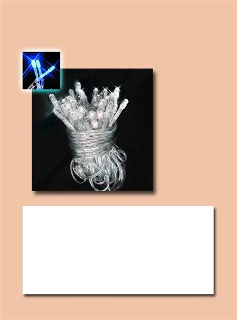 Lu Led Luminos instalatie 180 led superluminos alb fir transparent