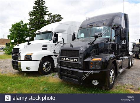 mack trucks stock  mack trucks stock images alamy