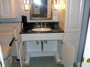Handicapped sink vanity wheelchair accessible sink and vanity anna