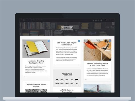 wordpress theme center layout publisher wordpress theme blog magazine download