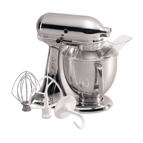 KitchenAid KSM152PS Custom Metallic Series 5 Quart Tilt Head Stand Mixer
