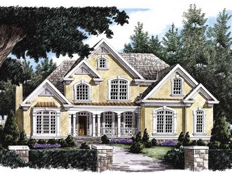 new american house plans eplans new american house plan lavish amenities 3434