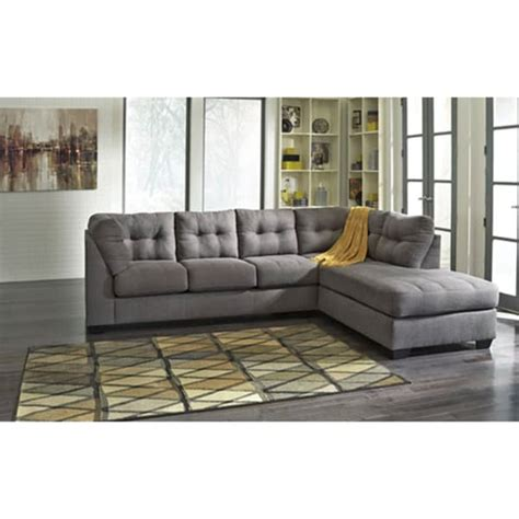 signature design sectional signature design by ashley maier charcoal corner chaise