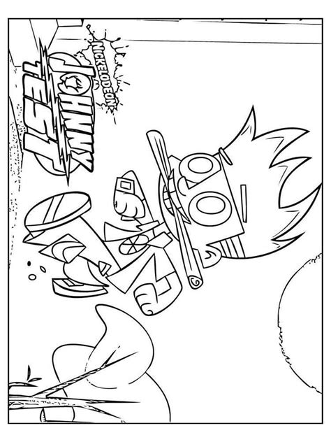 johnny test coloring pages games johnny test coloring pages free printable johnny test