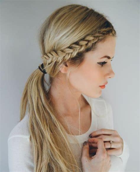 school photograph hairstyles peinados con trenzas de lado peinadoscon