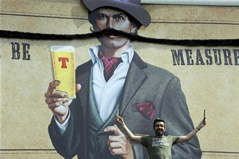 barber haymarket edinburgh barber to keep 16 feet moustache groomed deadline news