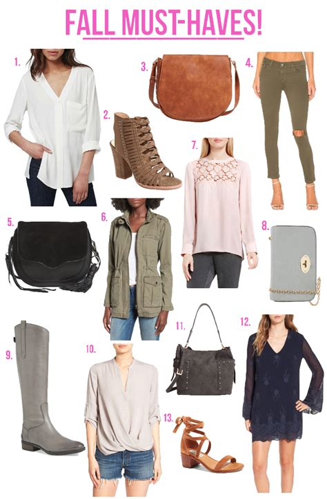 the monogrammed fashion friday fall must haves