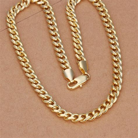 cheap for jewelry 2013 fashion 18k yellow gold necklace for classic