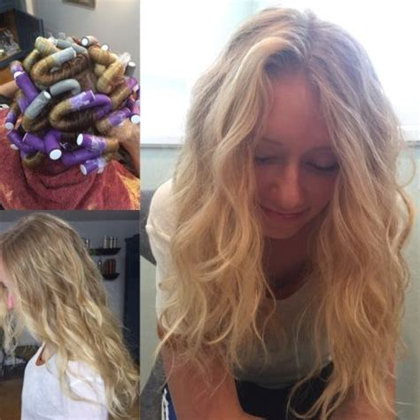 before and after photos of permant waves with frizzy hair m 225 s de 1000 ideas sobre beach wave perm en pinterest