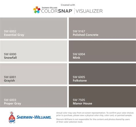 Sherwin Williams Essential Gray 17 best images about cabinet paint on pinterest plaza