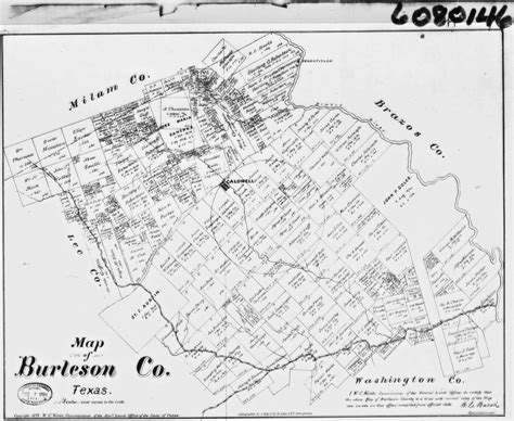 map of burleson county texas burleson county tx usgenweb archives