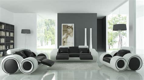 Wohnzimmer Mit Schwarzen Möbeln by 55 Interessante Wei 223 E M 246 Bel