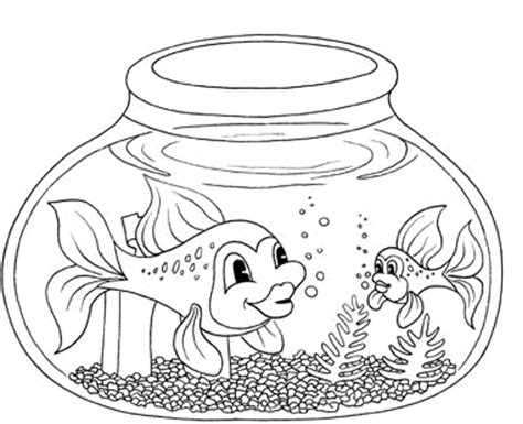 coloring pages of aquarium fish download free