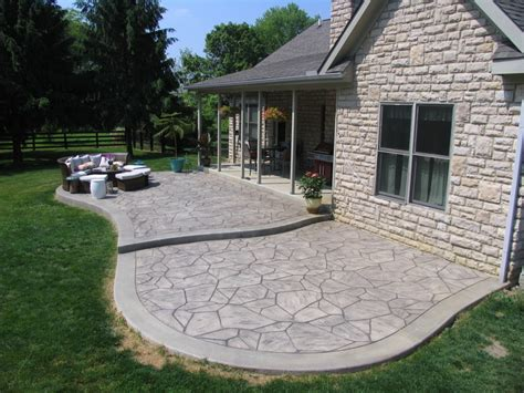 Stamped concrete driveways, patios, walkways,pool deck and