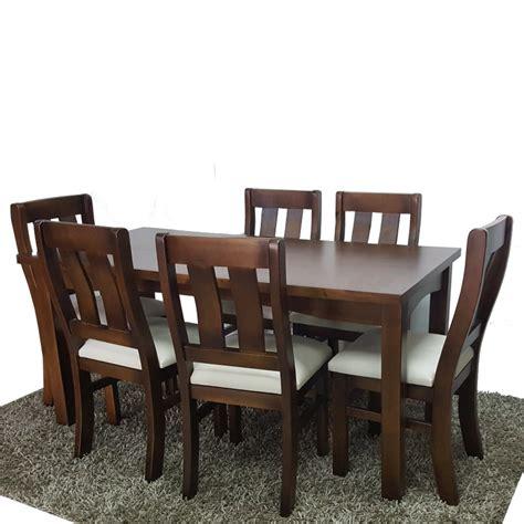 modelos de sillas para comedor 6 sillas y mesa para cocina y comedor en madera maciza gh