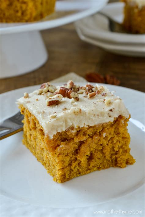 easy pumpkin cake with butter pecan frosting recipe just a pinch recipes