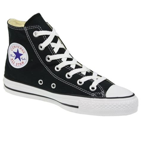 converse shoes size 3 converse all hi canvas new pumps trainers shoes black