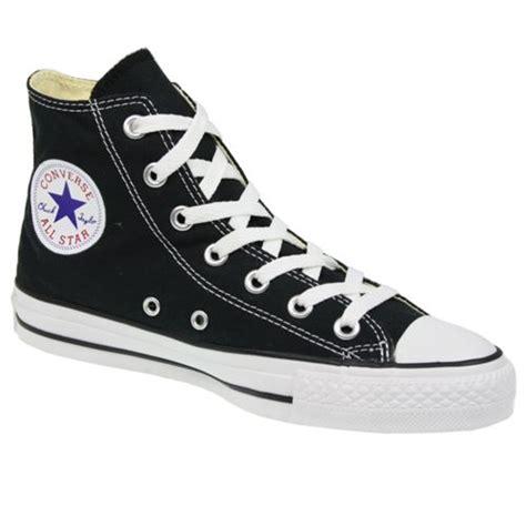 converse 3 canvas converse all hi canvas new pumps trainers shoes black