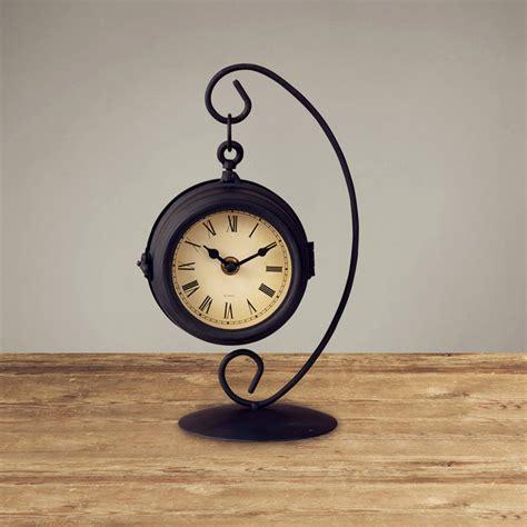 creative clocks classical simple design black table clock creative