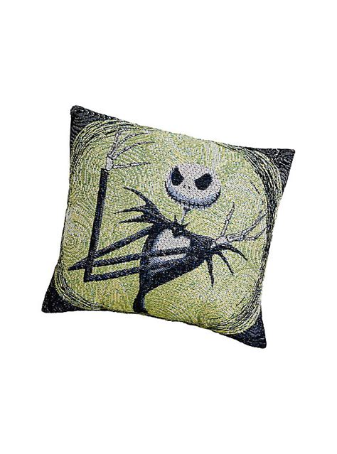 Skellington Pillow by The Nightmare Before Skellington Woven