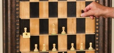 diy case for chess pieces chess com how to make a vertical wall mounted chessboard 171 board