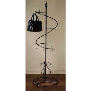 black friday purse handbag metal display tree stand coat