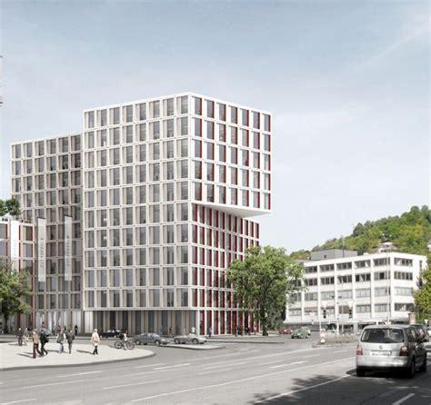 visualisierung stuttgart office building city gate stuttgart