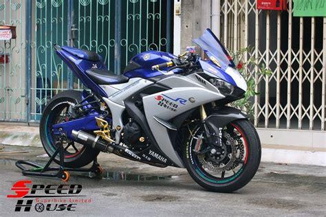 house of speed yamaha r3 độ ph 225 c 225 ch đầy tinh tế tại speed house show xe 2banh vn