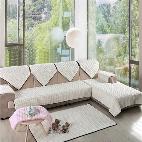 white loveseat slipcover home furniture luxury furniture protector for sofa 2 3 seat sofa