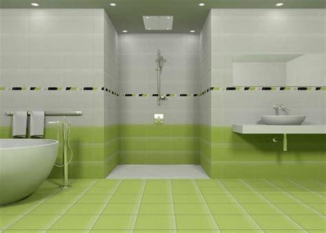 Green Floor Fliesen Badezimmer by Moderne Badideen F 252 R Fliesen Archzine Net
