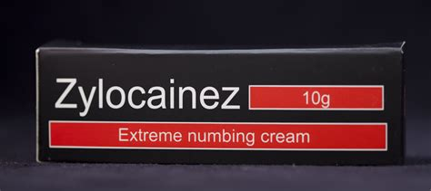 numbing cream for laser tattoo removal zylocainez numbing 10g packed with