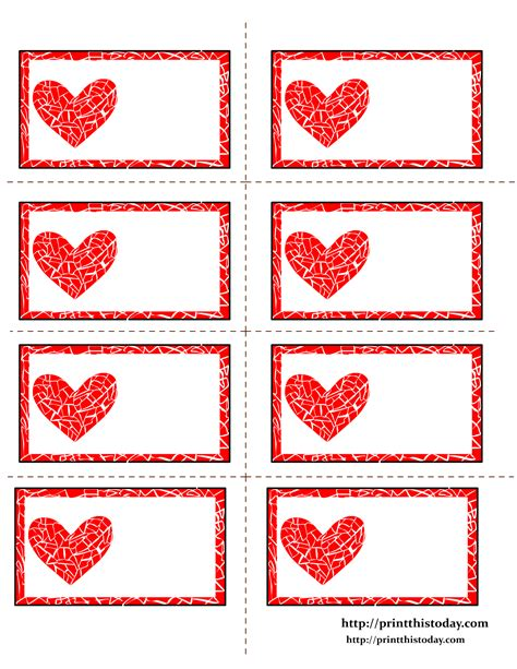 printable tags free free printable hearts labels