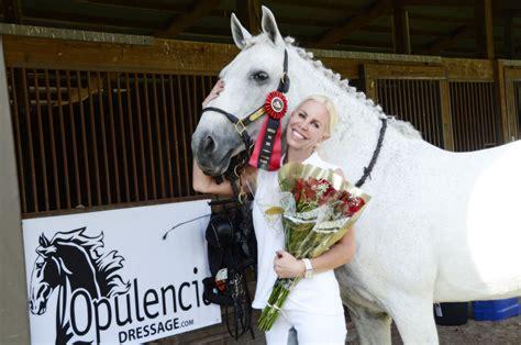 opulencia dressage opulencia equestrian news