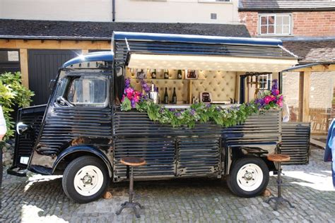 mobile drinks bar bar de cru is a mobile bar that rolls in a