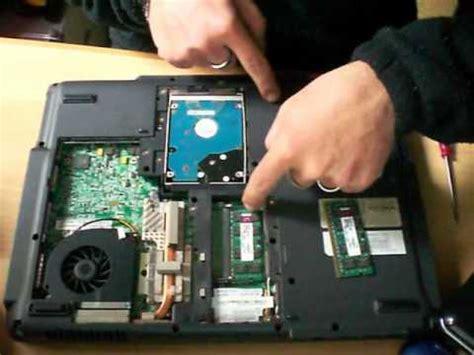 resetting laptop battery memory ram acer extensa youtube