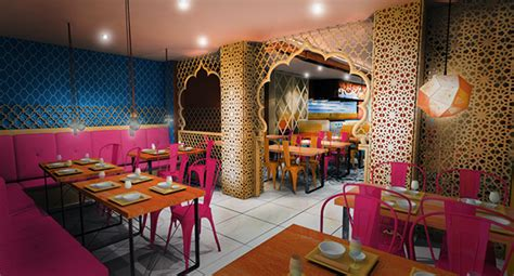 restaurant concept design indian restaurant concept design london haringey on behance