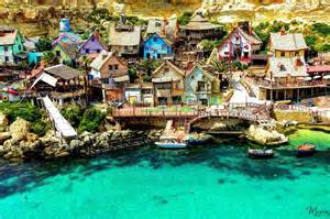 let s travel the world popeye village in malta